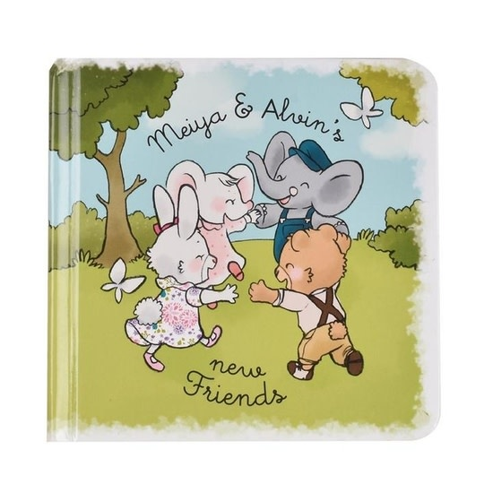 Tikiri Toys Meiya & Alvin - Story Book- New Friends