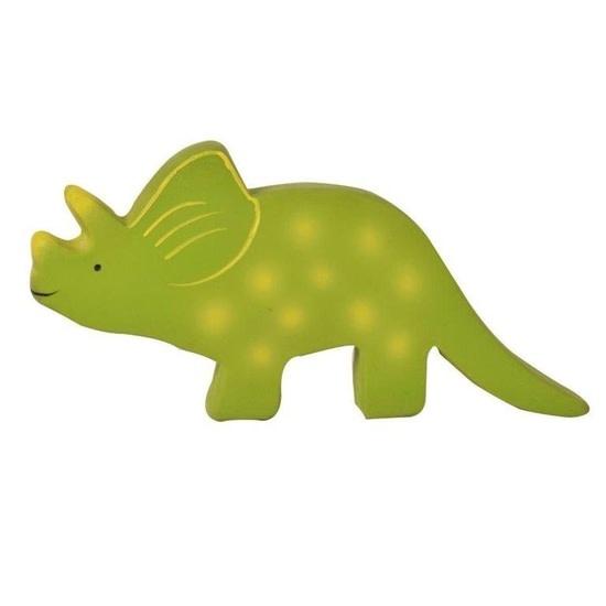 Tikiri Toys Baby Triceratops (Trice) Natural Rubber Toy