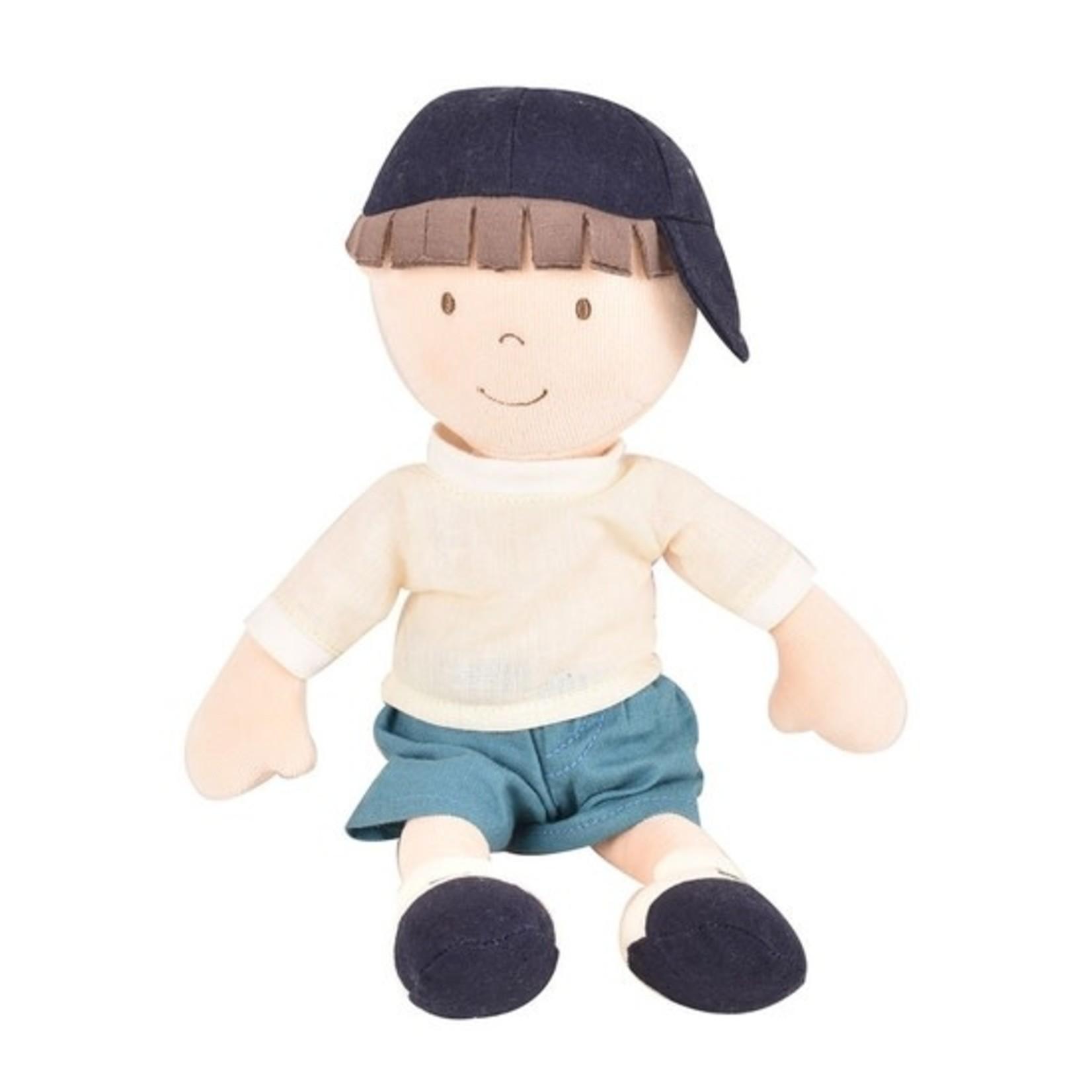 Tikiri Toys Jasper - Boy Doll in Blue Shorts