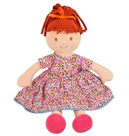 Tikiri Toys Emmy Lu Doll - Orange Hair with Pink Print Dress