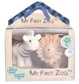 Tikiri Toys My First Zoo - Zebra & Lion Teether Set