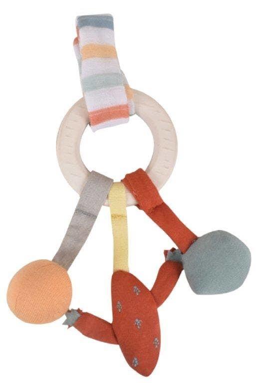 Tikiri Toys Lilith the Llama Activity Natural Rubber Ring