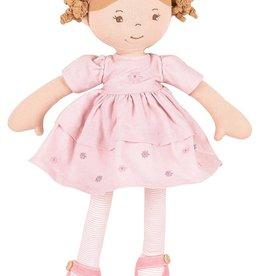 Tikiri Toys Amelia Doll in Pink Linen Dress w/ Display Box