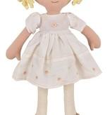 Tikiri Toys Priscy Doll in White Linen Dress w/ Display Box