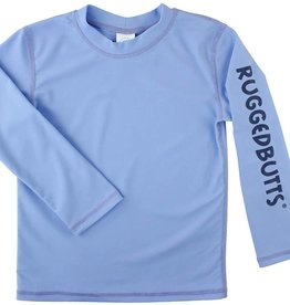 RuggedButts Long Sleeve Rash Guard Cornflower Blue