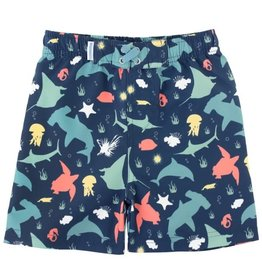 RuggedButts Starfish & Stingrays Swim Trunks (3-6m to 7y)
