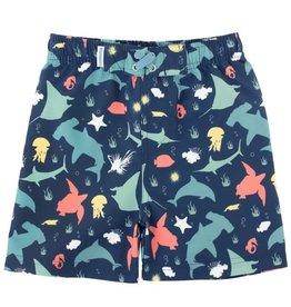 RuggedButts Starfish & Stingrays Swim Trunks