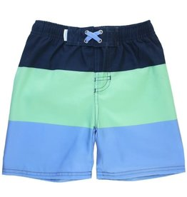 RuggedButts Color Block Swim Trunks  (3-6m to 7y)