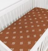 Mebie Baby Chestnut Textiles Muslin Crib Sheet