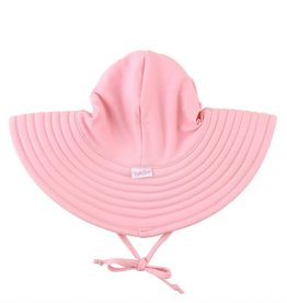 RuffleButts Swim Hat Pink