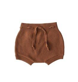 Mebie Baby Knit Bloomers Rust