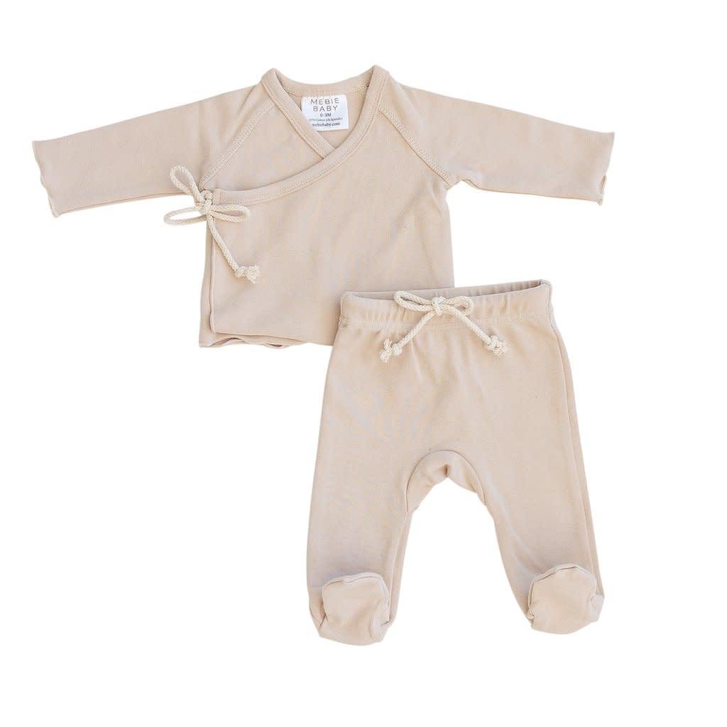 Mebie Baby Layette Set - Oat