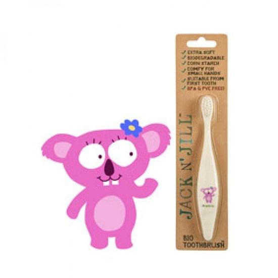 Jack N' Jill Natural Care Koala Biodegradable Toothbrush