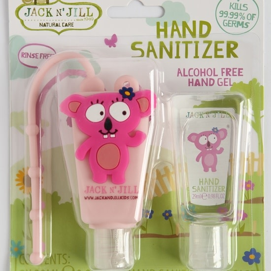 Jack N' Jill Natural Care Hand Sanitizer Koala - Alcohol Free. 2 x 0.98oz