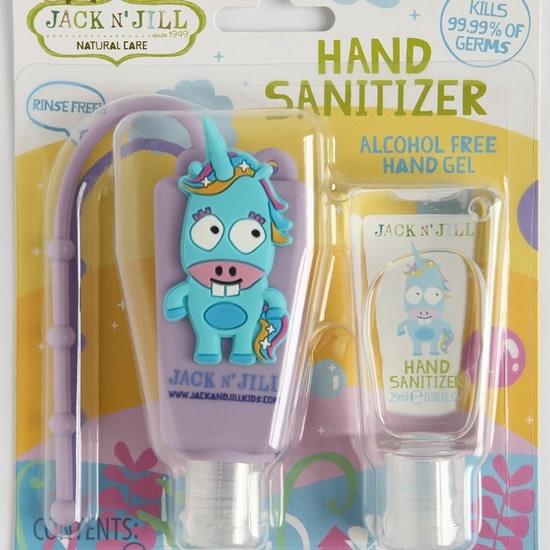 Jack N' Jill Natural Care Hand Sanitizer Unicorn - Alcohol Free. 2 x 0.98oz
