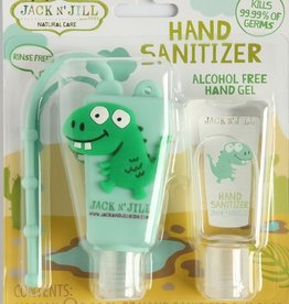 Jack N' Jill Natural Care Hand Sanitizer Dino - Alcohol Free. 2 x 0.98oz