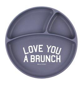 Bella Tunno Wonder Plate,  Love Brunch