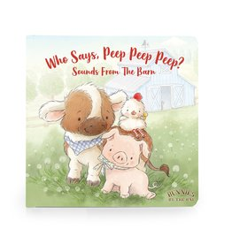 Bunnies By the Bay Who Says Peep Peep Board Book