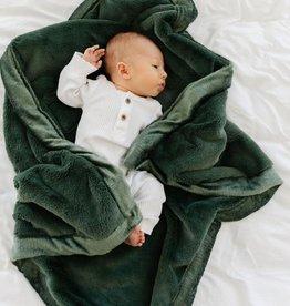 Saranoni Receiving Blanket (30'' x 40'') Hunter Lush