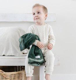 Saranoni Mini Blanket (15'' x 20'') Hunter Lush