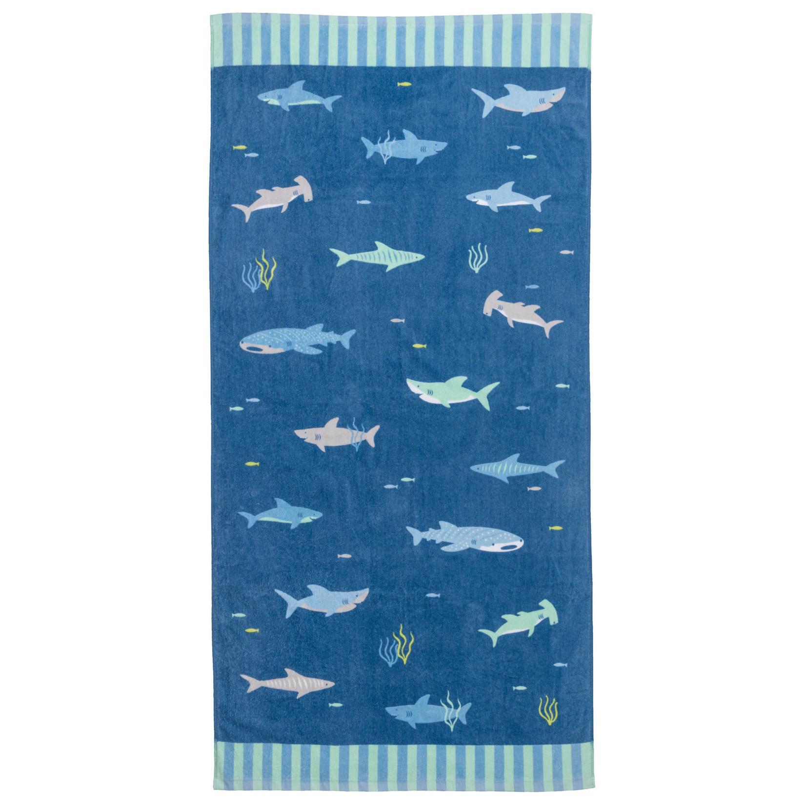 Stephen Joseph Gifts Beach & Bath Towel  Shark