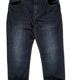 Me + Henry Navy Slim Fit Denim Jeans, Baby