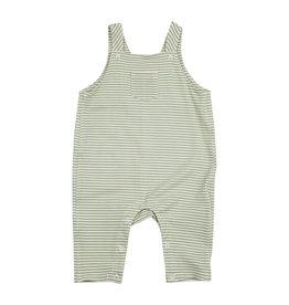 Angel Dear Pocket Overalls, Crayon Dinosaur Green Stripe