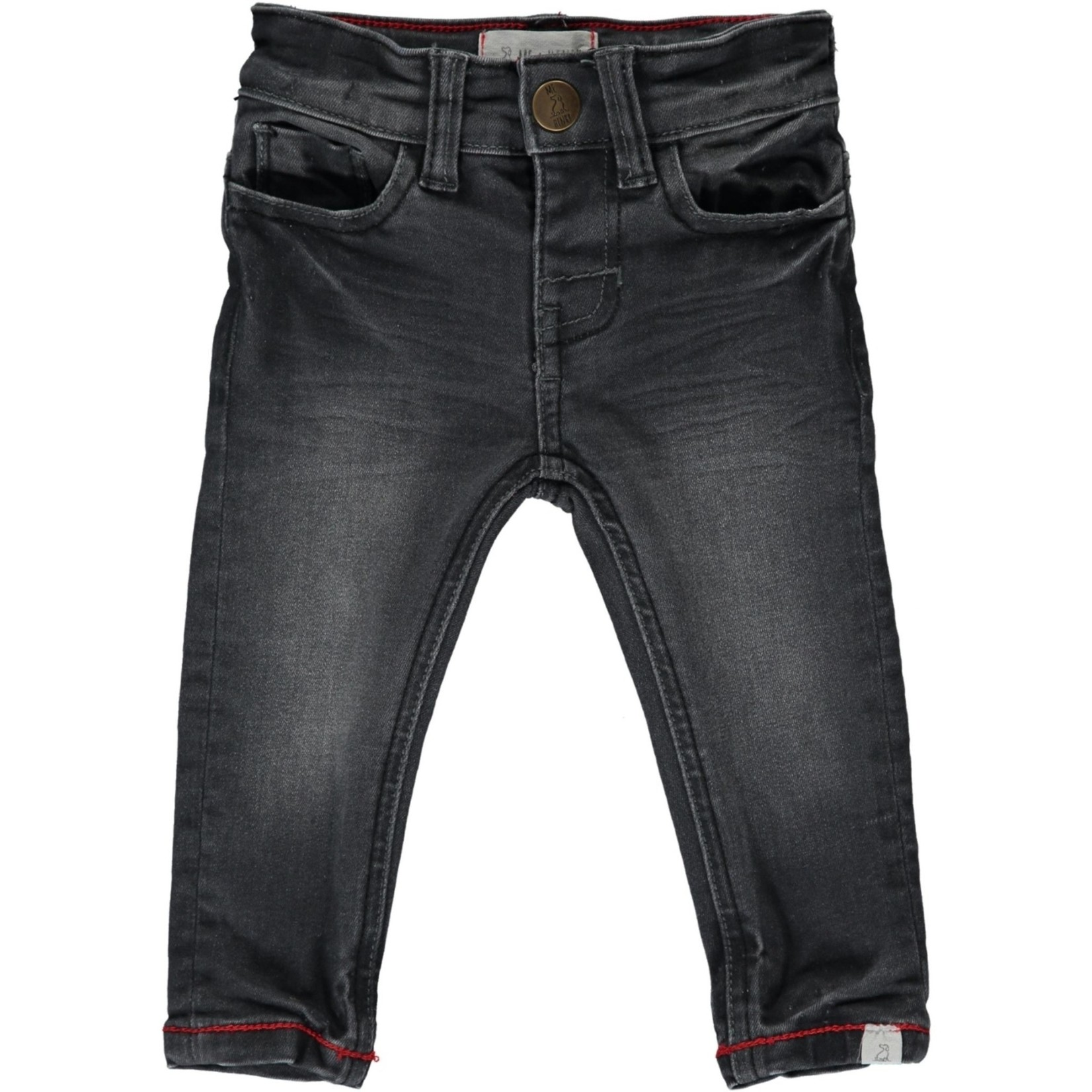 Me + Henry Charcoal Jeans Baby Slim Fit Denim