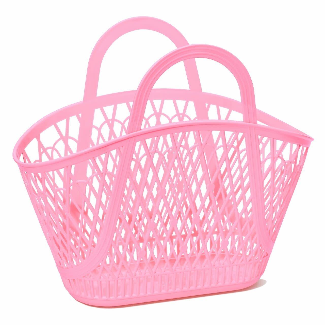 Sun Jellies Betty Basket - Bubblegum