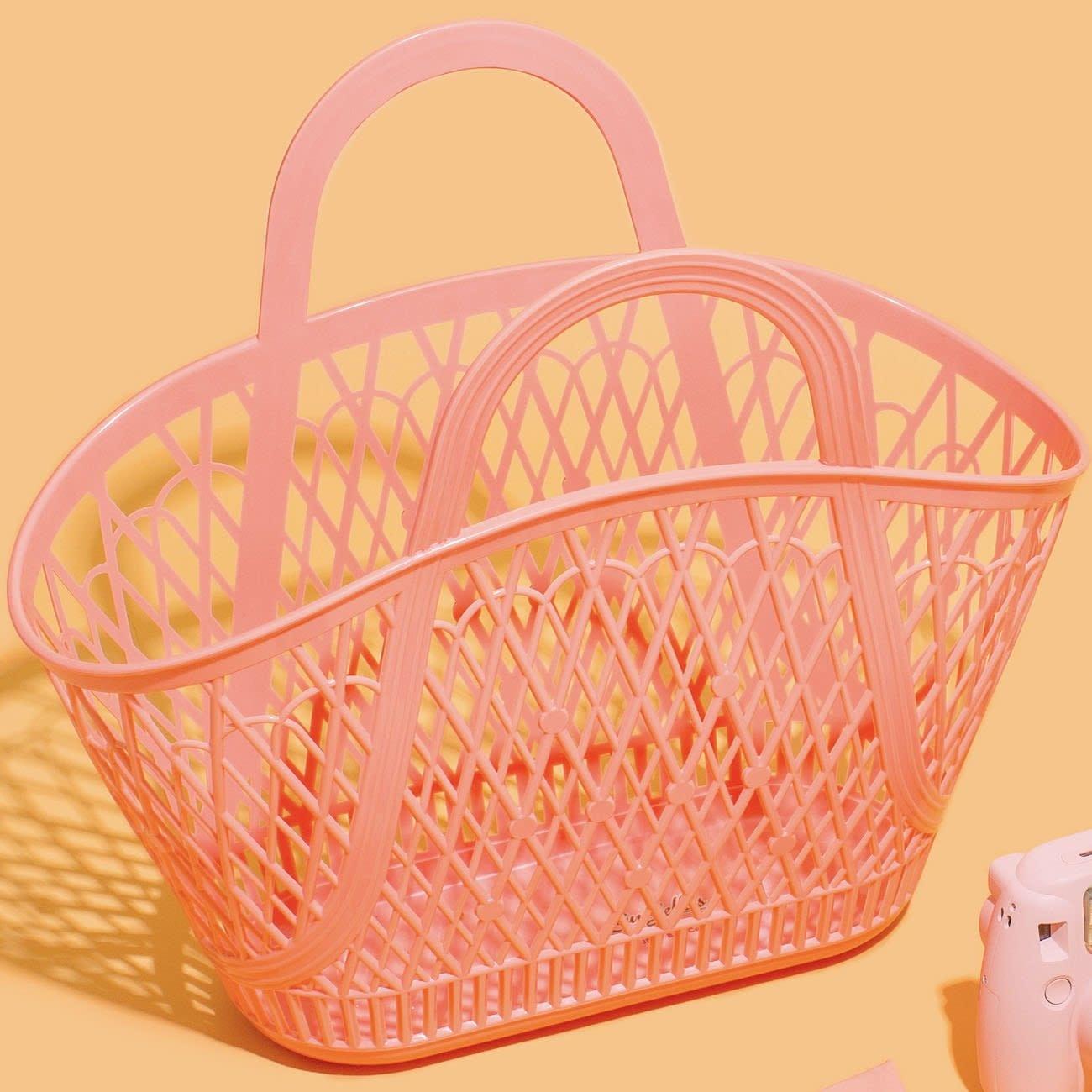 Sun Jellies Betty Basket - Peach