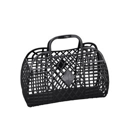 Sun Jellies Retro Basket - Large Black