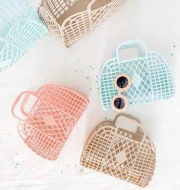 Sun Jellies Retro Basket - Mini Me Latte
