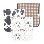 Copper Pearl Burp Cloths (3 pack) - Jo Farm