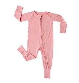 Little Sleepies Convertible Romper/Sleeper Bubblegum