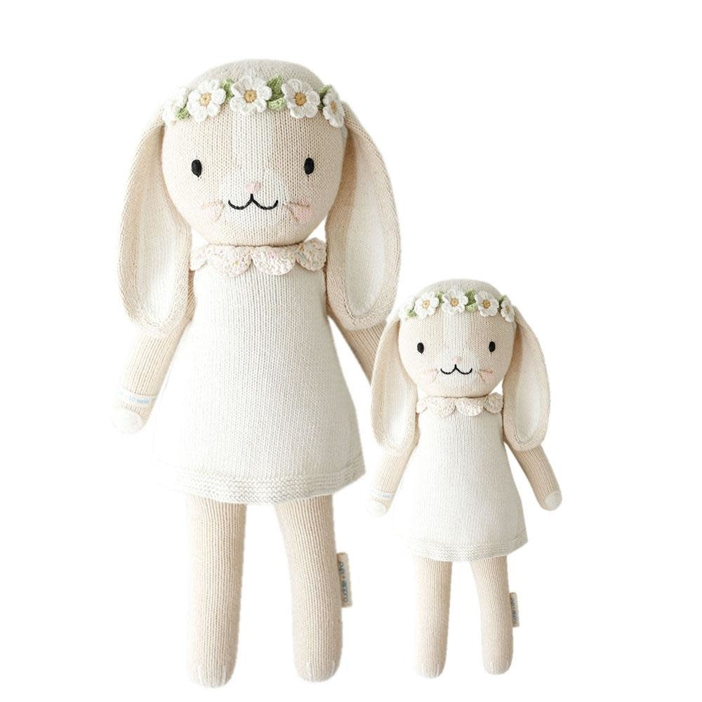 "Cuddle and Kind Hannah the bunny little 13"" (Ivory)"