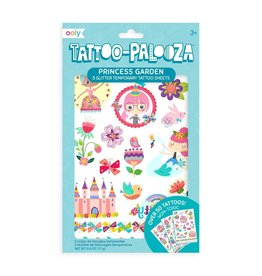 Ooly Tattoo Palooza Temporary Glitter Tattoo: Princess Garden