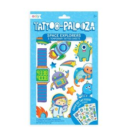 Ooly Tattoo Palooza Temporary Tattoo: Space Explorer