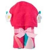 Stephen Joseph Gifts Hooded Beach Towel  Mermaid Flower