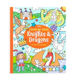 Ooly Color-in' Book : Knights & Dragons