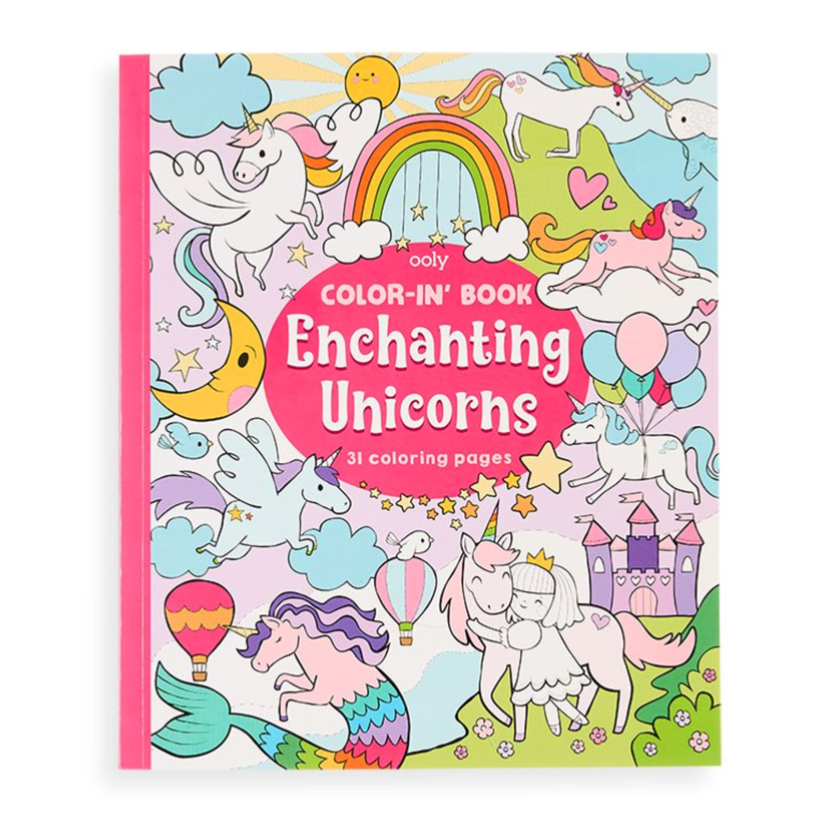 Ooly Color-in' Book: Enchanting Unicorns