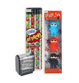 Ooly Comic Attack Happy Pack