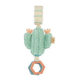 Itzy Ritzy Ritzy Jingle Cactus Attachable Travel Toy