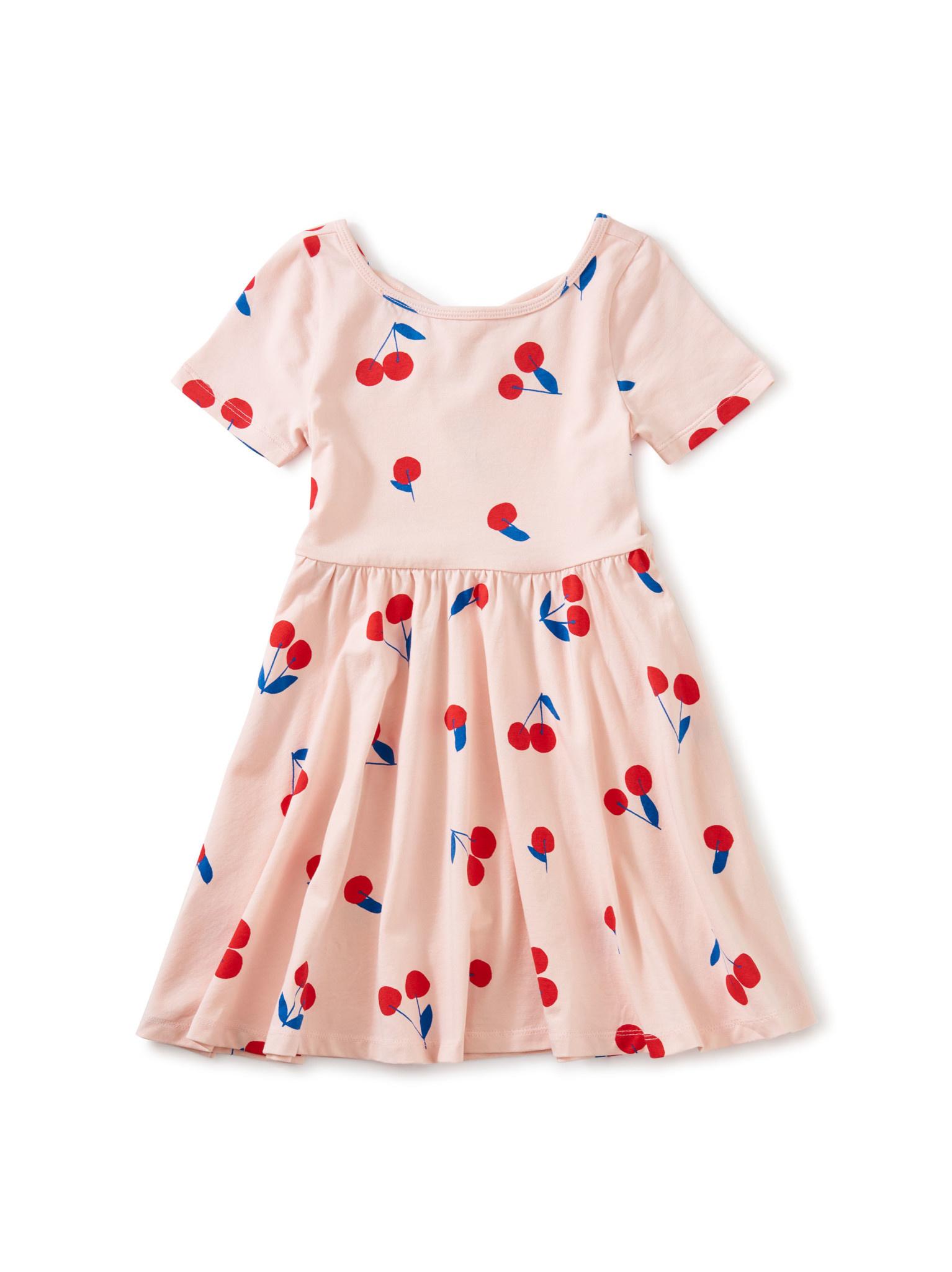 Tea Collection Ballet Dress - Ginja Cherry Pink