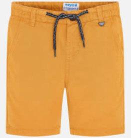 Mayoral Linen Shorts Boy - Pollen 6T