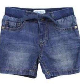 Mayoral Basic Denim Bermuda Baby Boy Shorts 24 Mo/2t