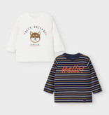 Mayoral Long Sleeve Baby Shirts Set 9M