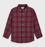 Mayoral Long Sleeved Boys Checked Shirt 4T