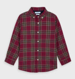 Mayoral Long Sleeved Boys Checked Shirt 4T