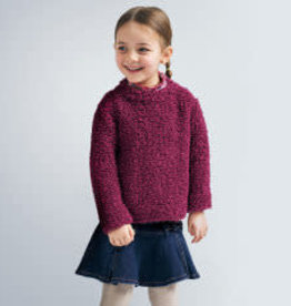 Mayoral Sweater Girl - Cherry 4T