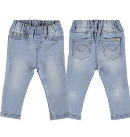 Mayoral Baby Girl Basic Light Denim  Jeans